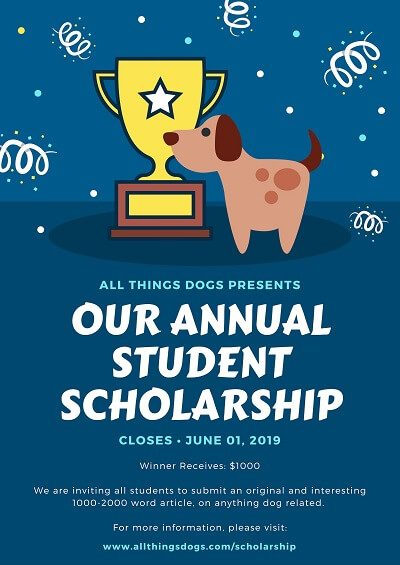 All Things Dogs Scholarship Small